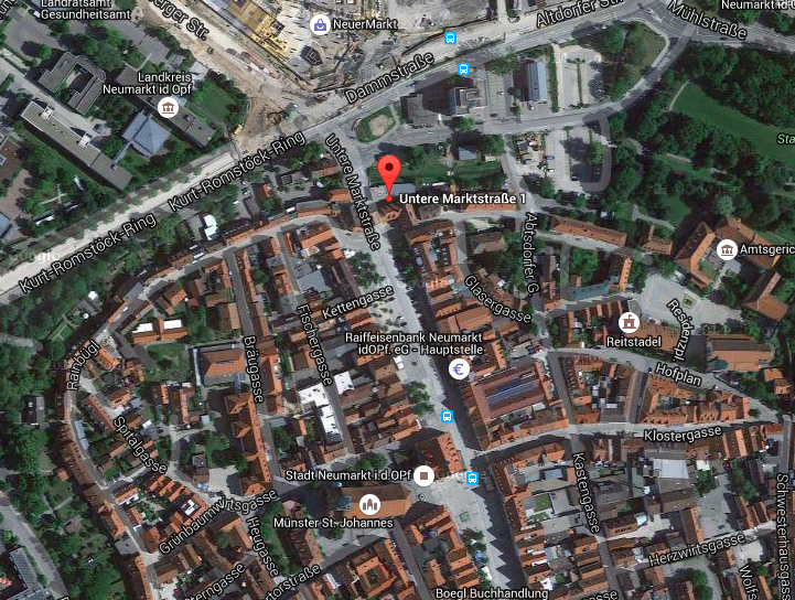 https://www.google.de/maps/place/Untere+Marktstraße+1,+92318+Neumarkt+in+der+Oberpfalz/@49.2808482,11.458682,17z/data=!3m1!1e3!4m2!3m1!1s0x479f6ff4c3da2a63:0x79df6391b710c9be